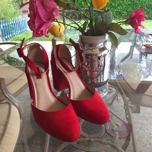 Forever 21 Red Heels
